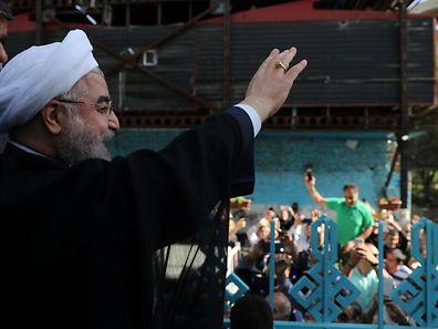 Rouhani won 23.5 million votes