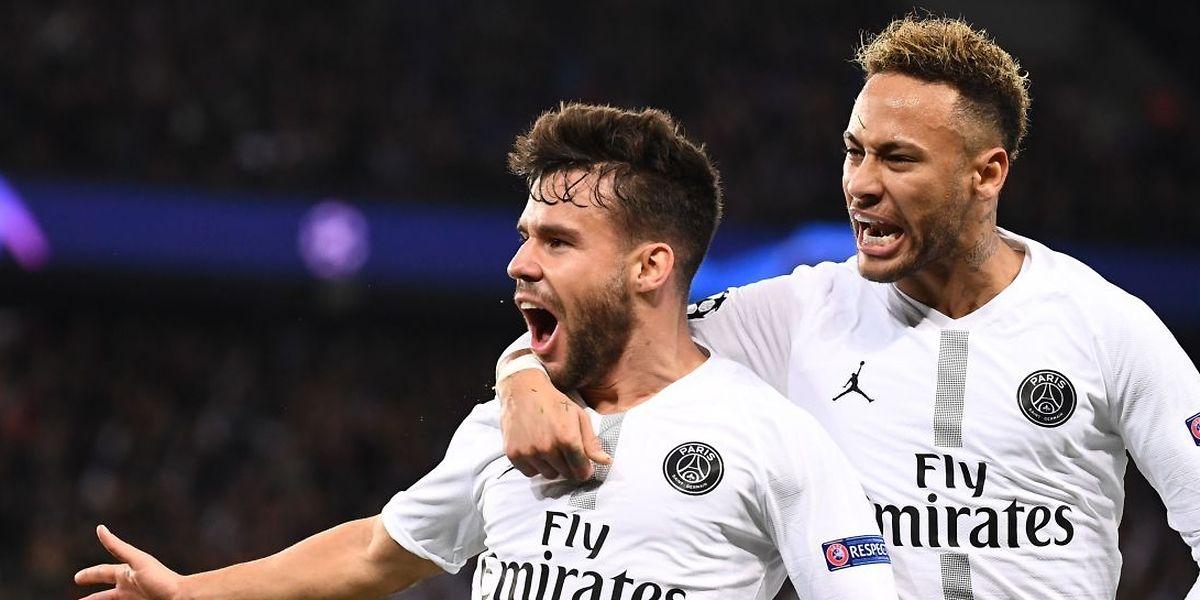 Juan Bernat et Neymar peuvent souffler. Grâce à sa victoire sur Liverpool 2-1, le PSG est maître de son sort avant la dernière journée.