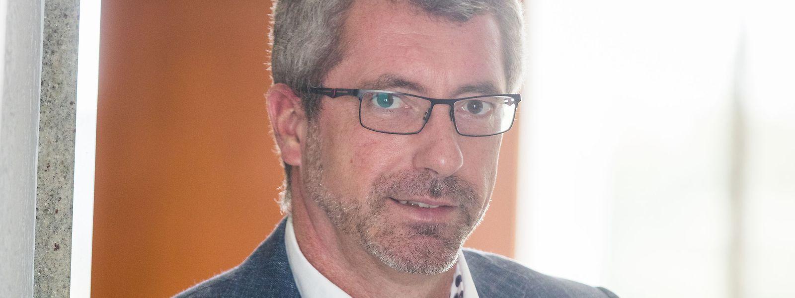 """Frank Engel möchte die seiner Meinung nach veralteten Entscheidungsprozesse in der CSV vereinfachen. """"Ein halbwegs dynamischer Mensch, der zu uns kommt und mitarbeiten möchte, geht in dem ganzen Gremiensumpf unter."""""""