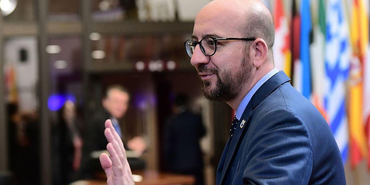 Premierminister Charles Michel sieht keine Möglichkeit, dass Belgien Ceta noch zustimmt.