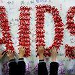 Seit dem Jahr 2000 sind rund 25 Millionen Menschen am AIDS-Virus verstorben.