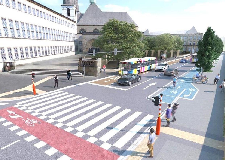 Voici à quoi ressemblera le Boulevard Roosevelt d'ici la fin 2019.