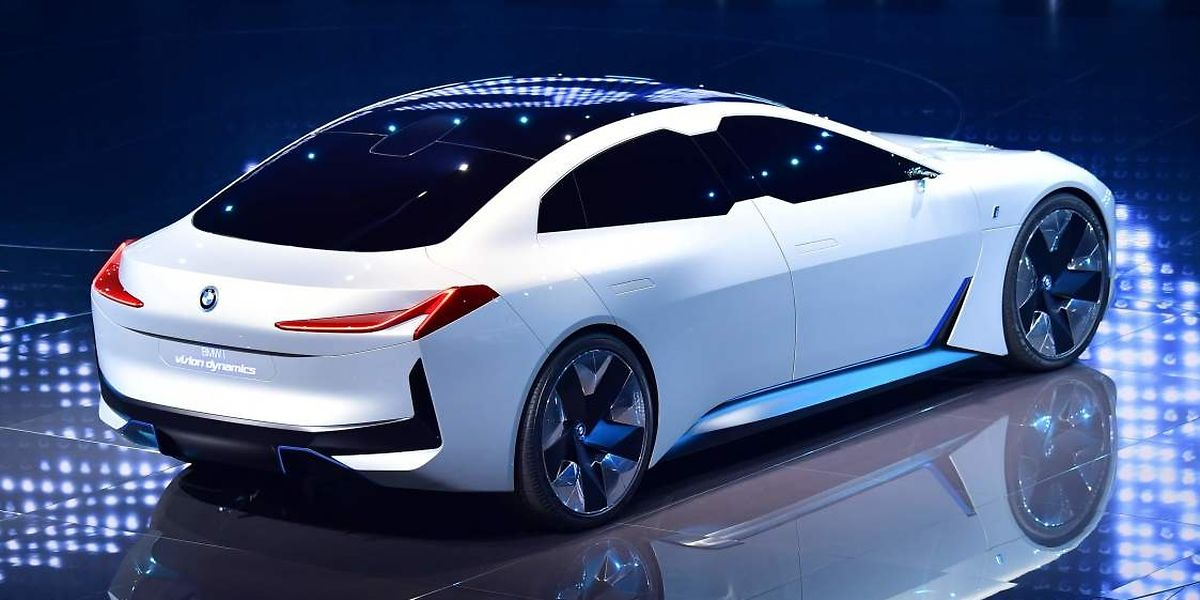 Viertüriges Gran Coupés: der BMW i Vision Dynamics.