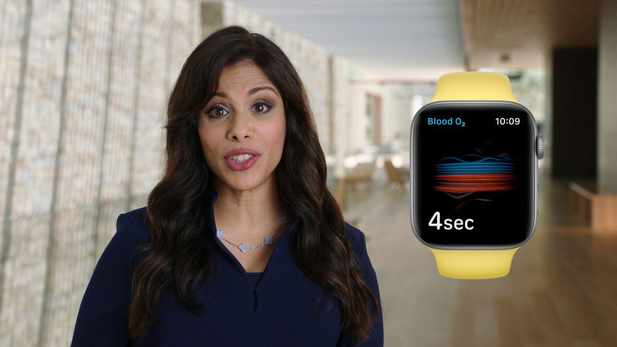 L'Apple Watch Series 6 est commercialisée à partir de 399 dollars