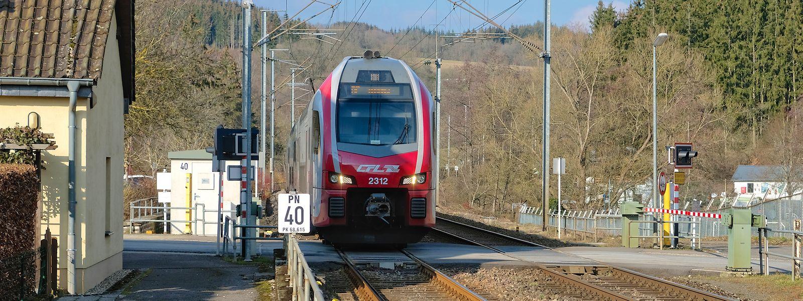 Rund 1000 Züge der CFL sind täglich auf dem überlasteten Schienennetz unterwegs.