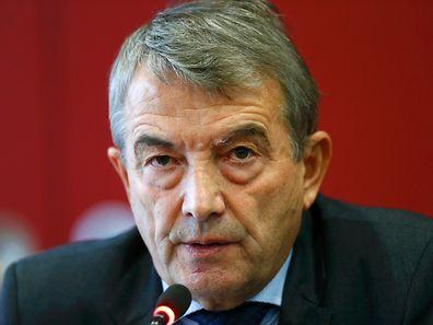 Wolfgang Niersbach reagierte am Donnerstag auf die Vorwürfe.