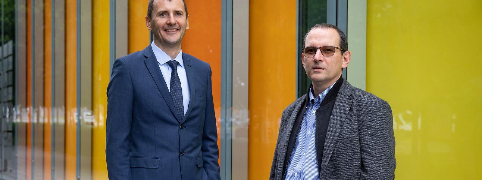Radu State und Andrey Martovoy wollen Banken helfen, ihre Tools für die Geldwäschebekämpfung zu verbessern.