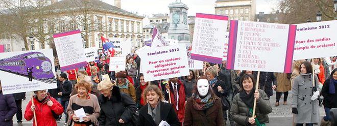 Pela primeira vez, o Luxemburgo vai receber uma marcha nocturna pela mulher