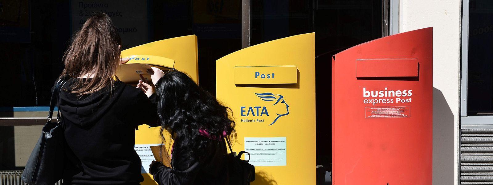 Explosive Post: Acht weitere Briefbomben sind in Griechenland aufgetaucht.