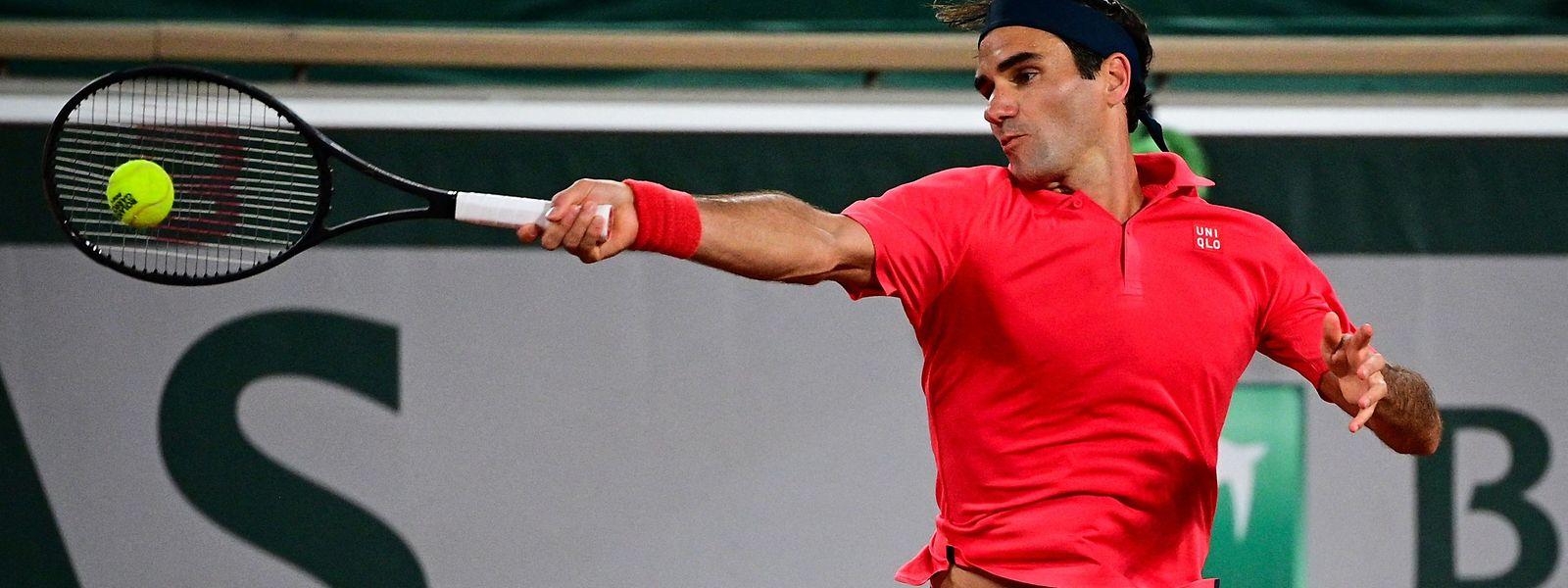 Roger Federer tritt nicht im Achtelfinale an.