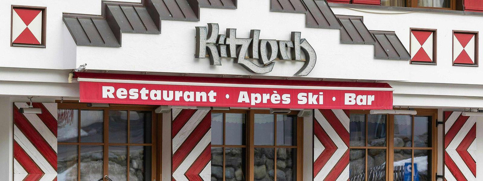 """Am 9. März wurde die Bar """"Kitzloch"""" in Ischgl behördlich gesperrt."""