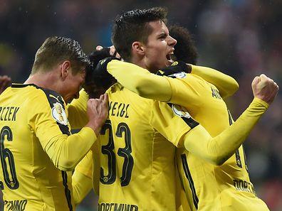 Borussia Dortmund überraschte die Bayern im Halbfinale.