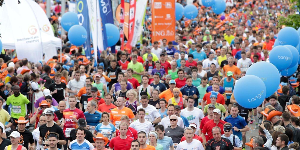 En 2016, 14.000 participants ont parcouru les rues de la ville pour la 11e édition du marathon.