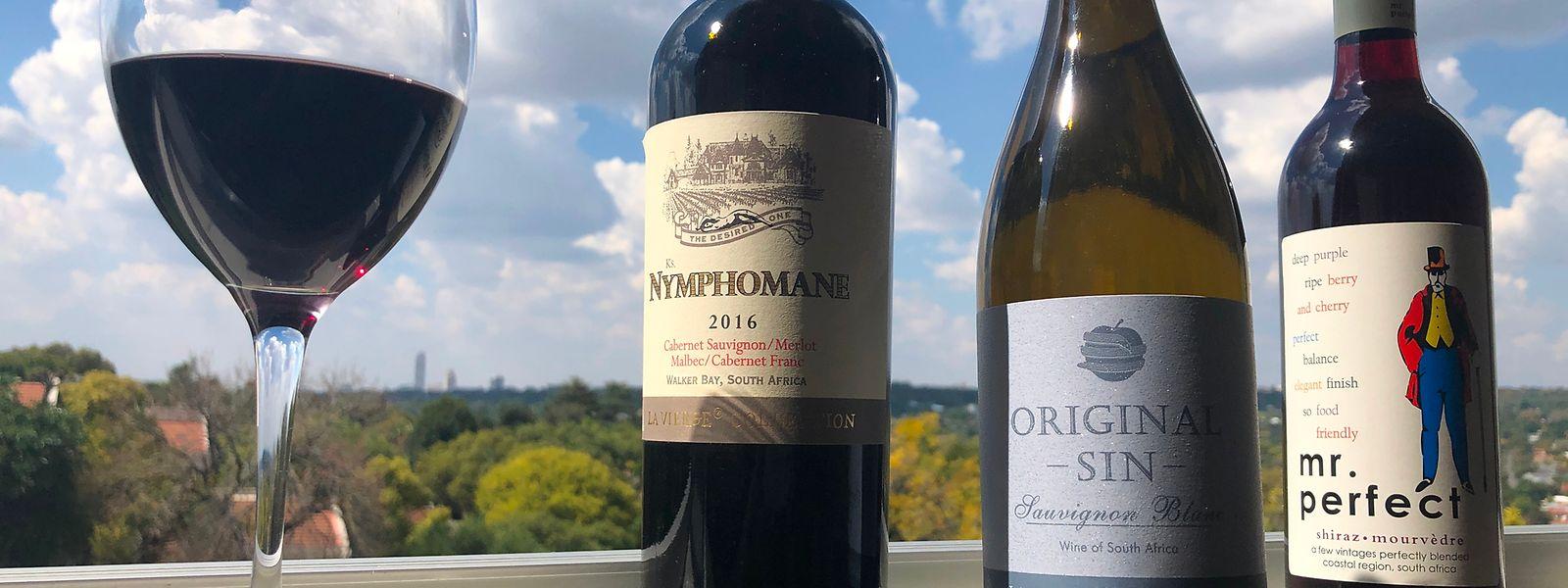 Winzer in Südafrika schrecken vor nichts zurück. Was so alles im Weinglas landet, zeugt von Kreativität.