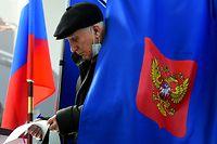 Im Osten haben die Lokale bereits geschlossen. In anderen Teilen Russlands wird noch gewählt.