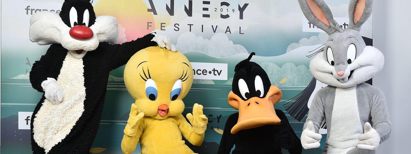 Looney Tunes Cartoons – Bugs Bunny und seine Freunde sind in Annecy.