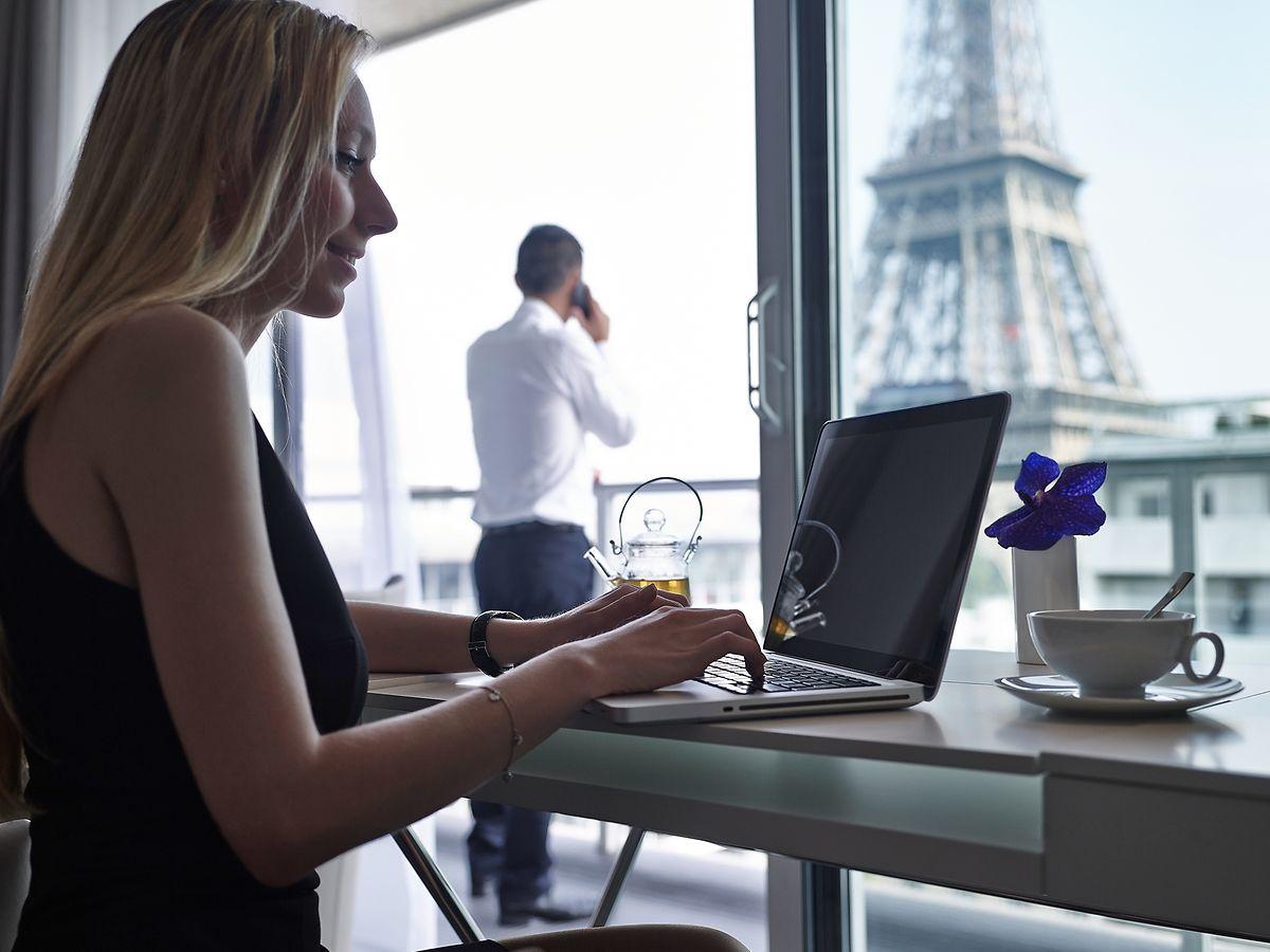 Direkter Blick auf den Eiffelturm: Mit dieser Besonderheit wartet das «Pullman Paris Tour Eiffel» auf.