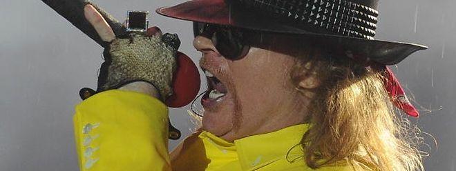 Axl Rose - ein Foto aus dem Jahr 2011.