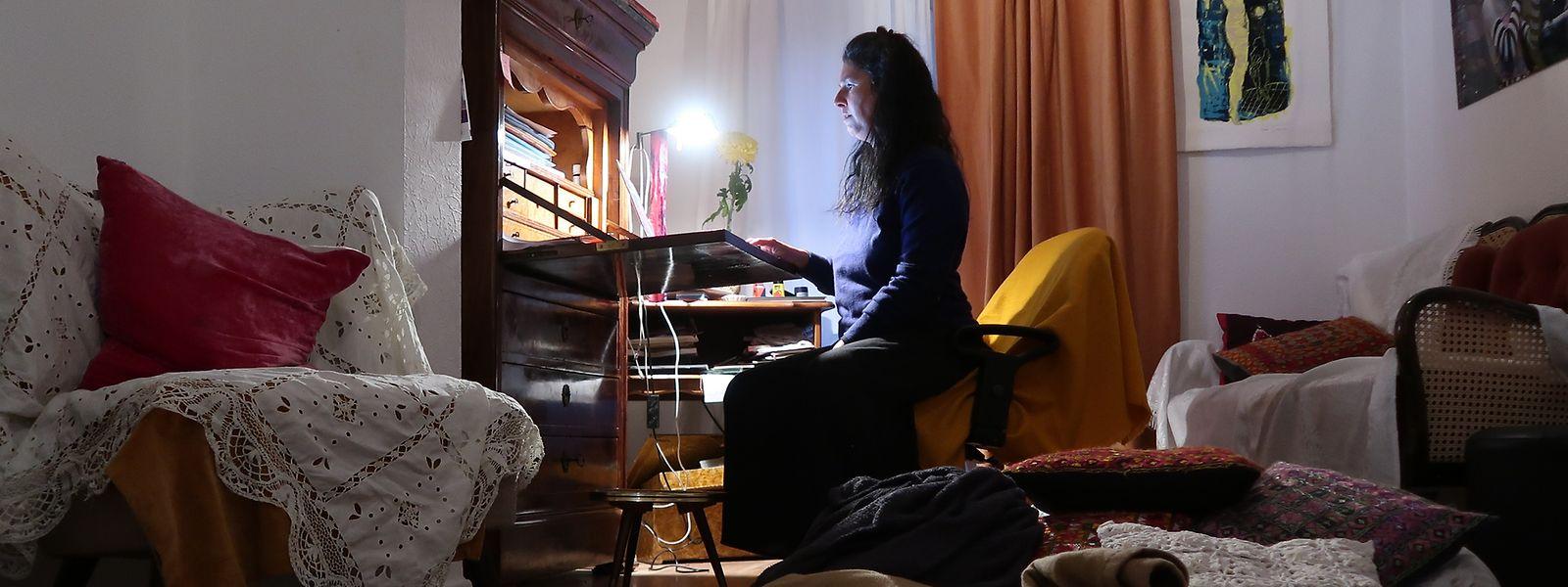 Vanessa Buffone: Ce qui importe dans l'atelier d'écriture within à Mamer c'est «d'écrire ensemble, de partager le moment de l'écriture».
