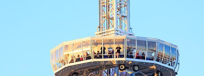 """Der Aussichtsturm soll bei der """"Gëlle Fra"""" aufgestellt werden."""