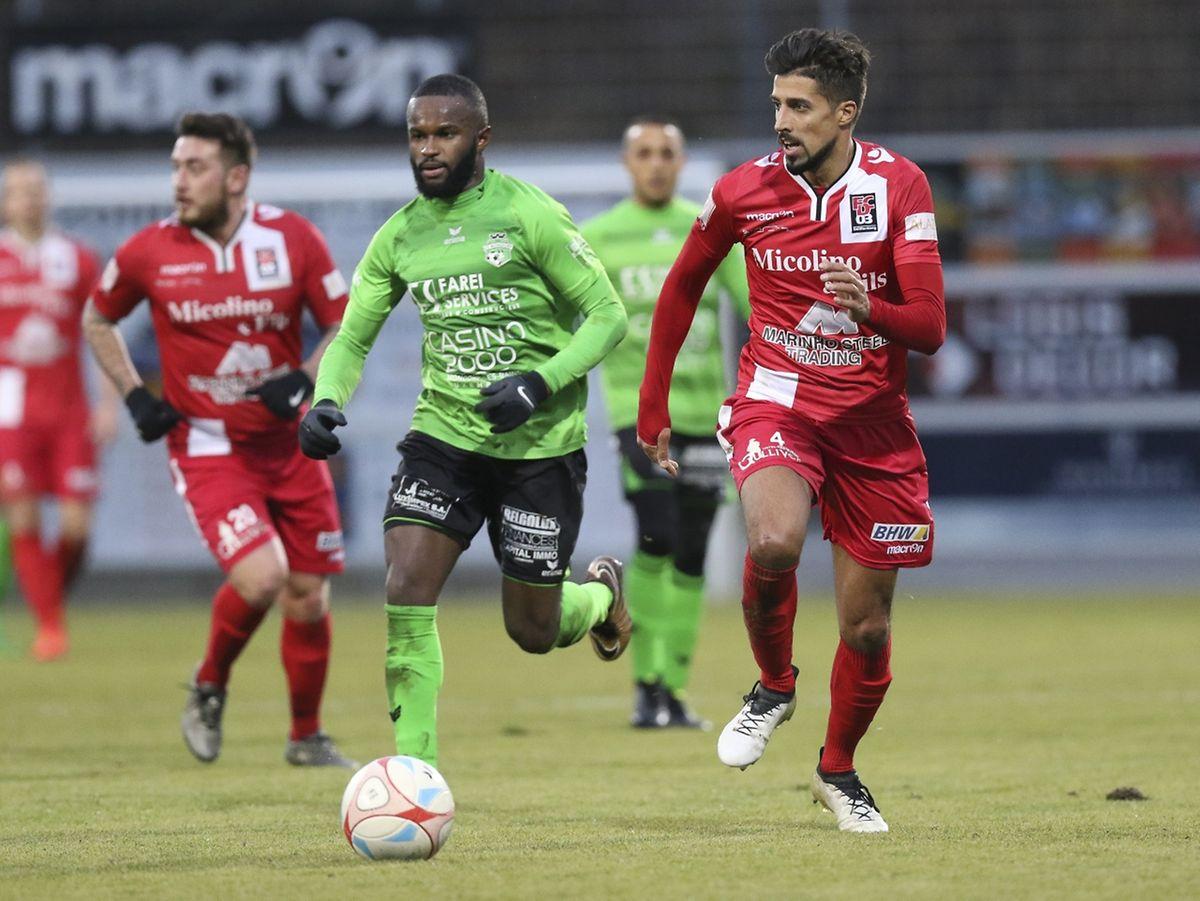 Alex Semedo et Mondorf ont terminé l'année en queue de poisson face au FC Differdange de André Rodrigues.