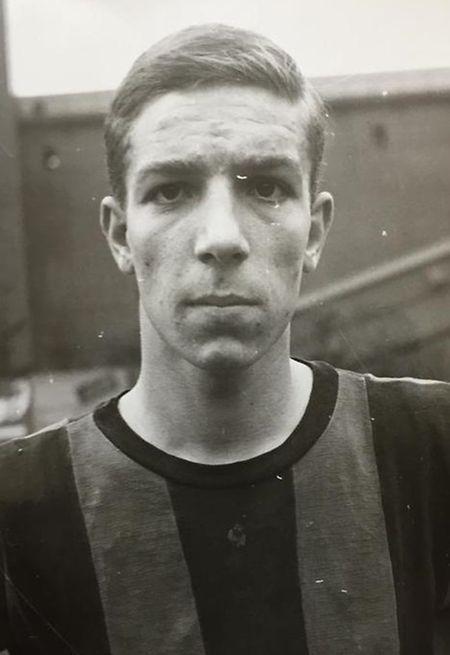 Berto Bonvivi, ex-jogador do Alliance Dudelange, equipa do famoso 'Bairro Itália' que equipava com as cores do AC Milan.