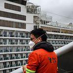 Coronavírus. Sete pessoas com passaporte português em quarentena num cruzeiro