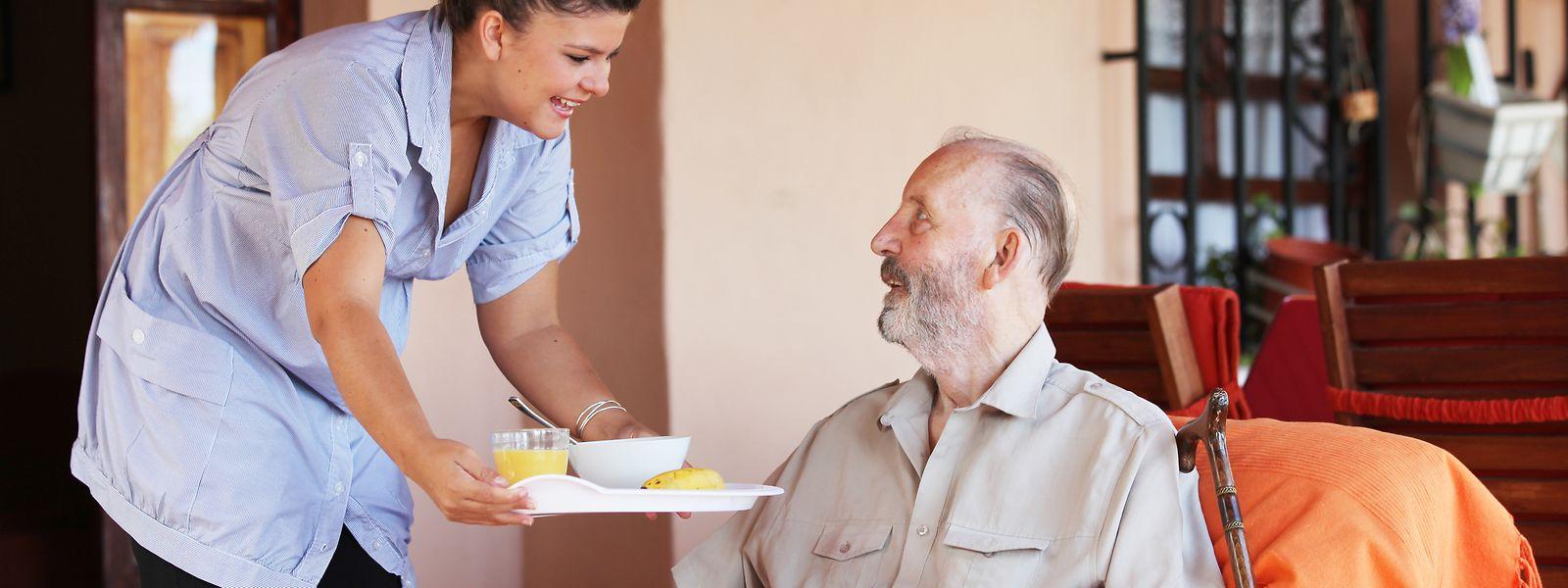 Rund zwölf Prozent der Angestellten der Pflegenetzwerke hatten Covid.