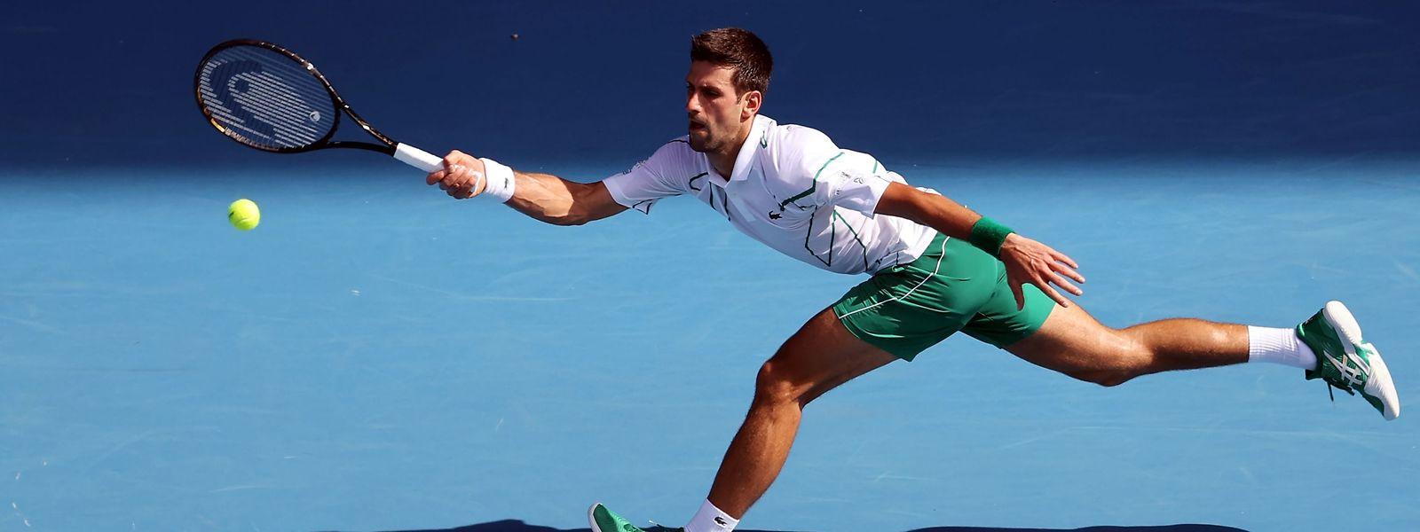 Novak Djokovic ließ Diego Schwartzman keine Chance.