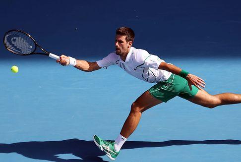 Australian Open: Djokovic im Viertelfinale - Out für Gauff