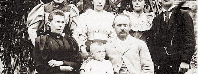 Laurent Menager und Familie.