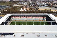 Lokales,Stade National du Luxembourg-neues Fussballstadion Kockelscheuer. Foto: Gerry Huberty/Luxemburger Wort