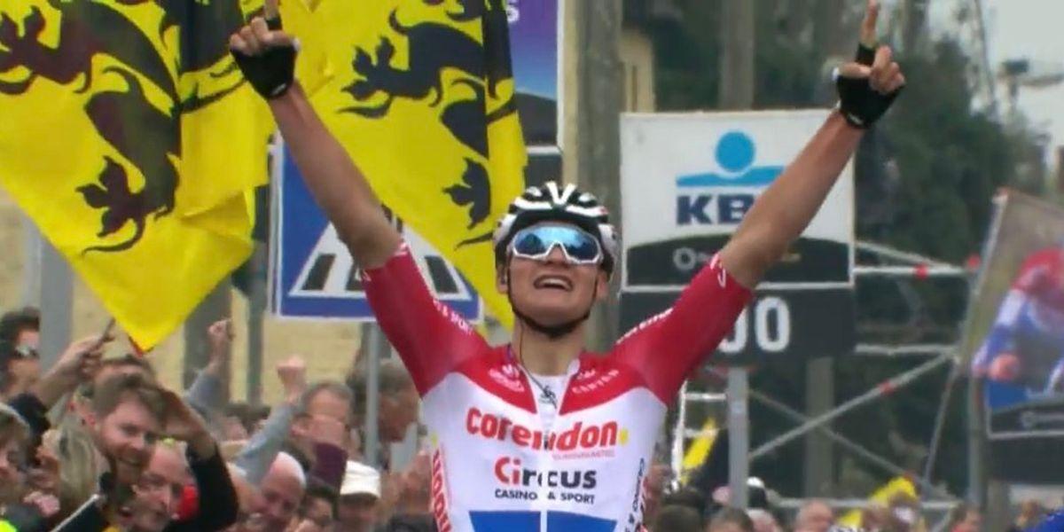 34 ans après son père Adrie,  Mathieu van der Poel a remporté la Flèche brabançonne