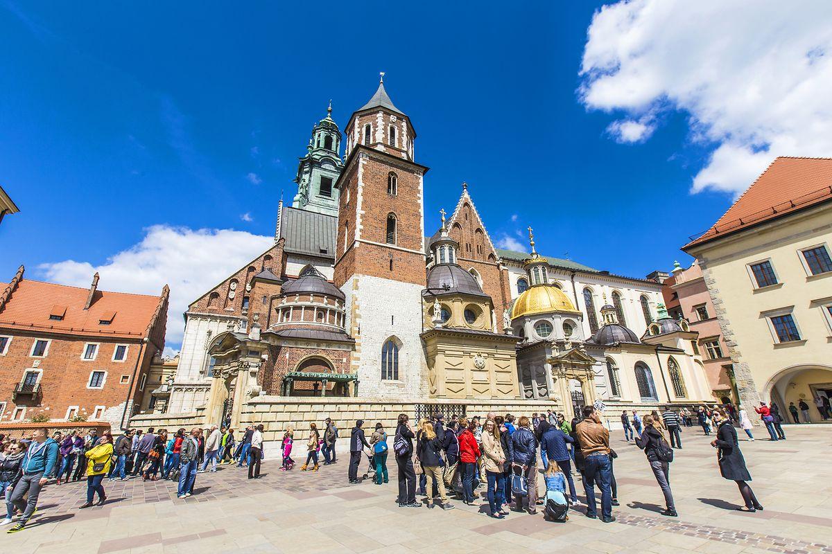 Ein Muss für Krakau-Touristen: die Kathedrale auf dem Stadtberg Wawel.