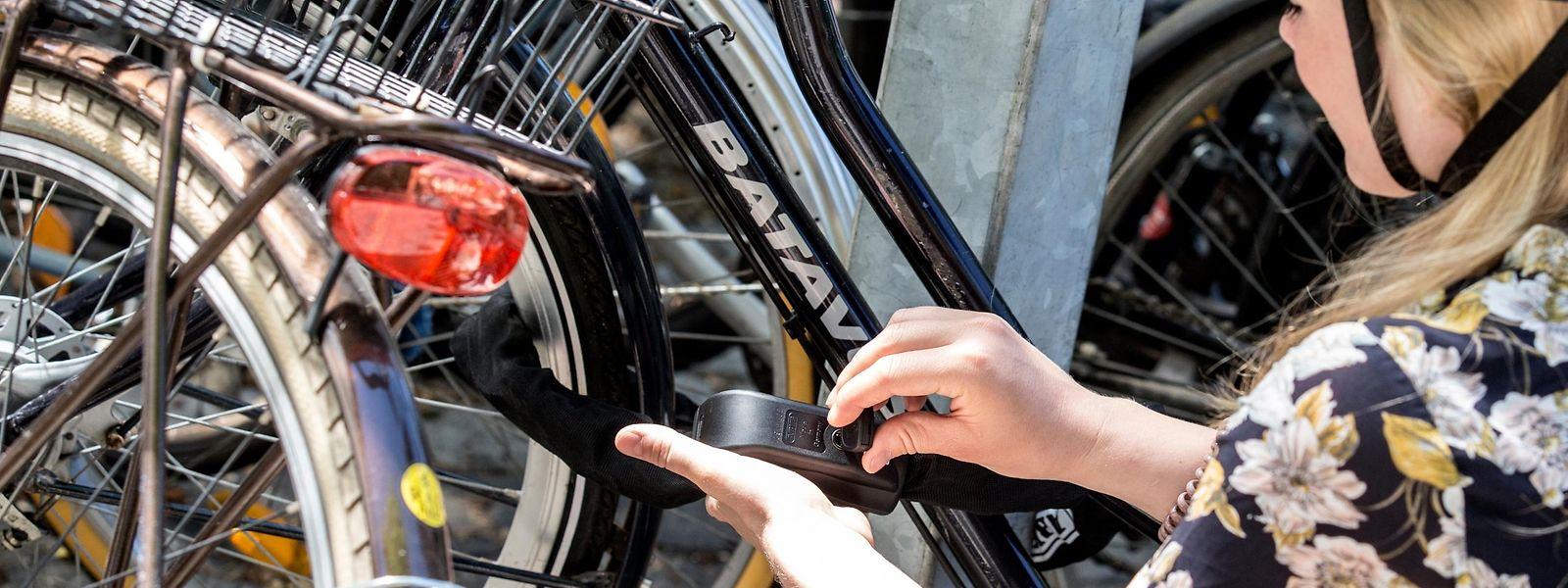 Mit hochwertigen Fahrradschlössern kann man Dieben das Leben schwer machen.