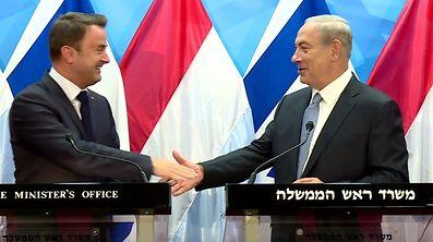 Bettel e Netanyahju deverão reencontra-se no Luxemburgo, mas com Abas