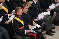 Staatsbegräbnis Großherzog Jean, funérailles Grand-Duc Jean. Kathedrale, Großherzog Henri und Maria Teresa,Foto: Guy Wolff/ Luxemburger Wort