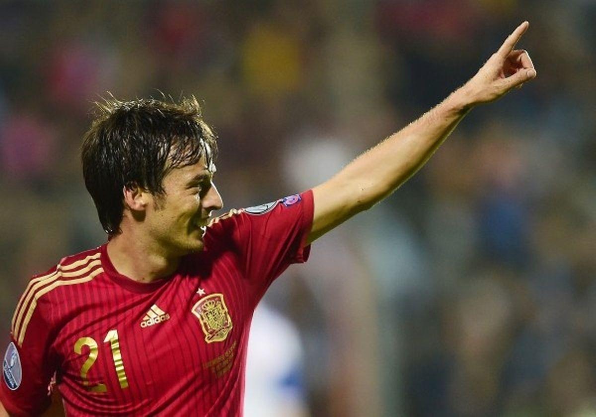 """David Silva, surnommé """"le leader silencieux"""", est devenu une pièce maîtresse de la Roja au même titre qu'Iniesta."""