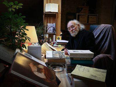 30.11.2016 Luxembourg, Wellenstein, Buchautor, Schriftsteller, Lambert Schlechter, Bücher, livres photo Anouk Antony