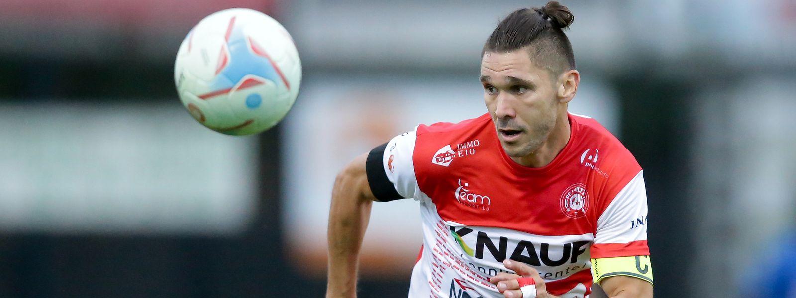 Le FC Wiltz et son capitaine Miguel Dachelet continuent d'épater la galerie en BGL Ligue