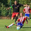 Gilles Schank (CSB) contre Krystian Patryk Czerpak (USR)Foto: Serge Daleiden