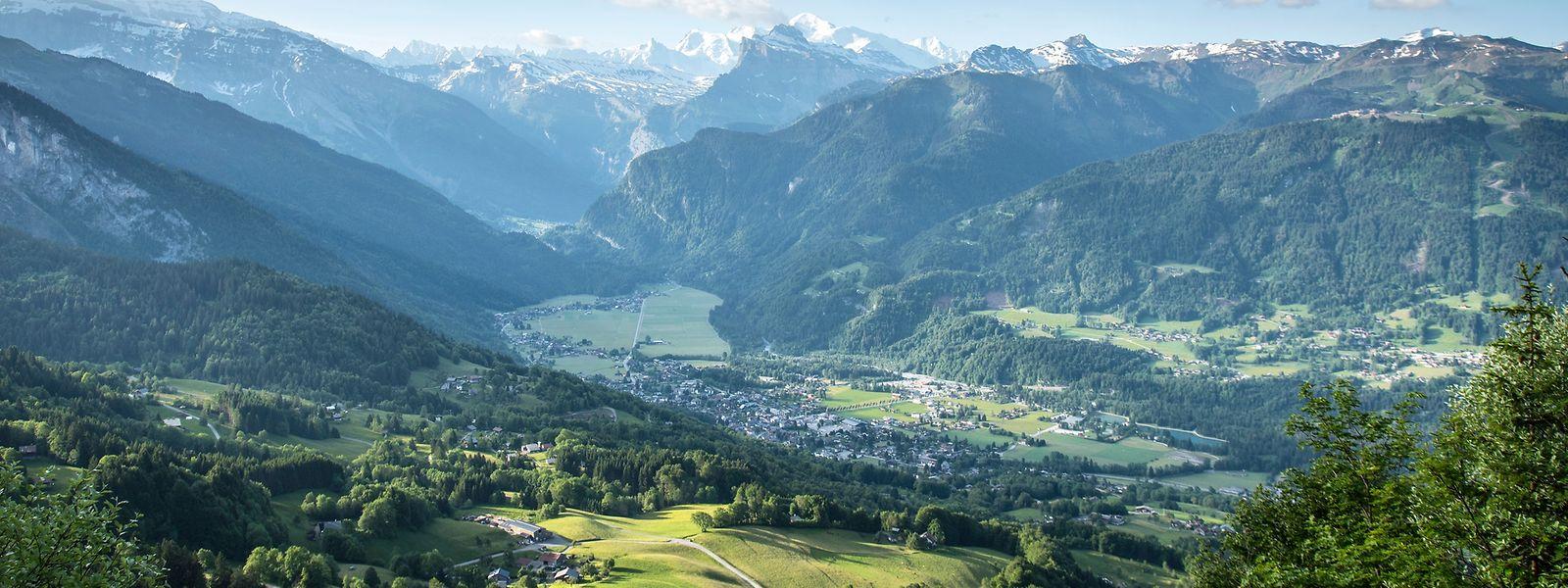 Eingebettet in die Savoyer Alpen – der Ort Samoëns wurde erstmals 1167 urkundlich erwähnt.
