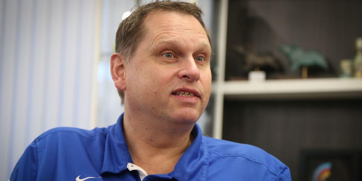 Peter van Noord ist erst kürzlich Jugendtrainer der FLBB geworden.