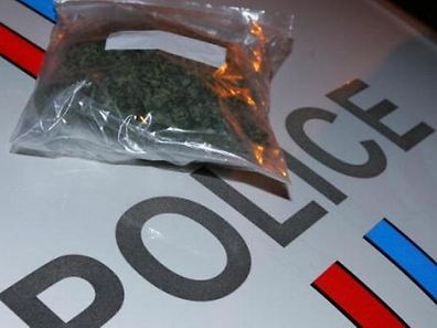 The man was found with a spoon, heroin and other drug paraphernalia.