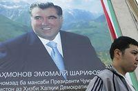 Regiert auf Lebenszeit und hat merkwürdige Ideen für seine Polizeibeamten: Tadschikistans autokratischer Präsident Emomali Rahmon.