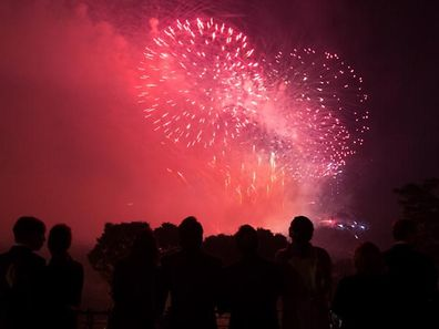 Fire works create a lot of pollution.