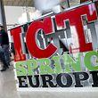 """Die Tagung ICT Spring auf Kirchberg war der perfekte Standort für die Vorstellung der Strategie """"Digital (4) Education""""."""