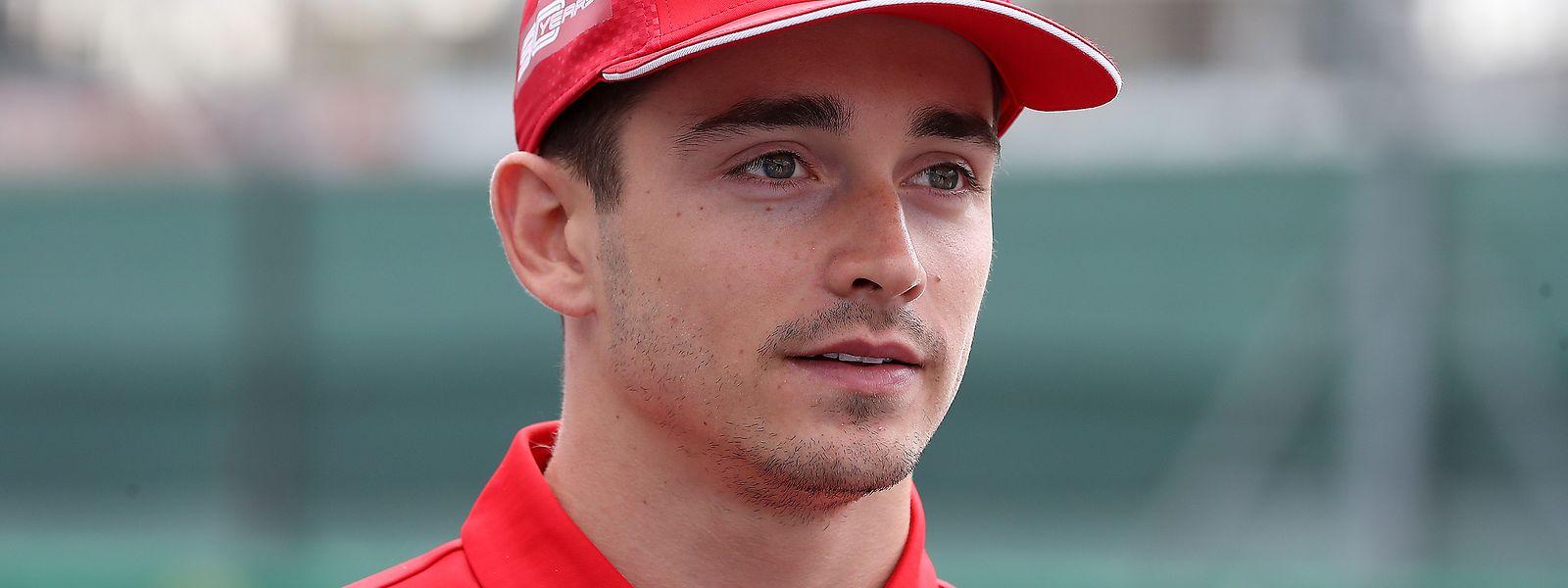 Charles Leclerc ist der Dominator der virtuellen Formel-1-Szene.