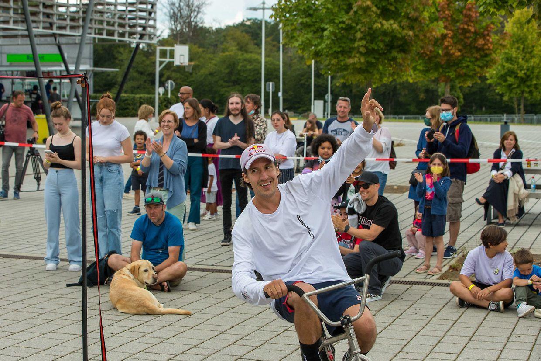 Neue Sportarten und Kunstrichtungen gab es am Sonntag in Junglinster zu entdecken.