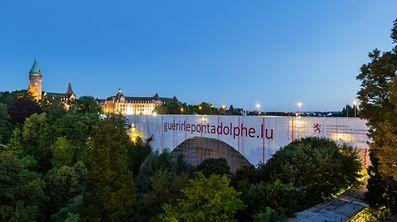 Pont Adolphe, Nei Bréck.Foto:Gerry Huberty